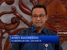 Penjelasan Lengkap Anies Soal Antisipasi Banjir Jakarta