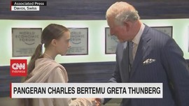 VIDEO: Pangeran Charles Bertemu Greta Thunberg