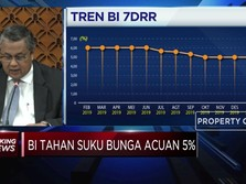 Lagi, Bank Indonesia Pertahankan Suku Bunga Acuan di 5%