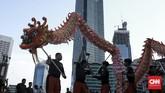Dalam Liong, naga adalah hewan yang dipercaya sebagai pelindung. (CNN Indonesia/Andry Novelino)