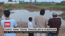 VIDEO: Empat Anak Tewas Tenggelam di Kubangan