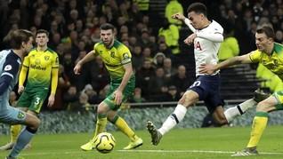 Hasil Liga Inggris: Tottenham dan Leicester Raup Tiga Poin