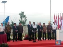 Top! Deretan Fasilitas Canggih Soetta yang Diresmikan Jokowi