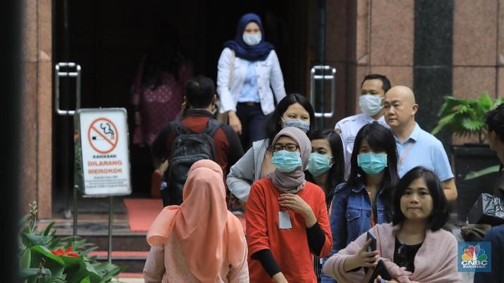 Investigasi Corona Virus di Indonesia. (CNBC Indoensia/Andrean Kristianto)