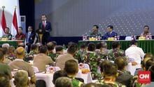 Jokowi Minta TNI-Polri Terdepan Jaga NKRI dan Agenda Besar