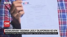 VIDEO: Menkumham Yasonna Laoly Dilaporkan ke KPK