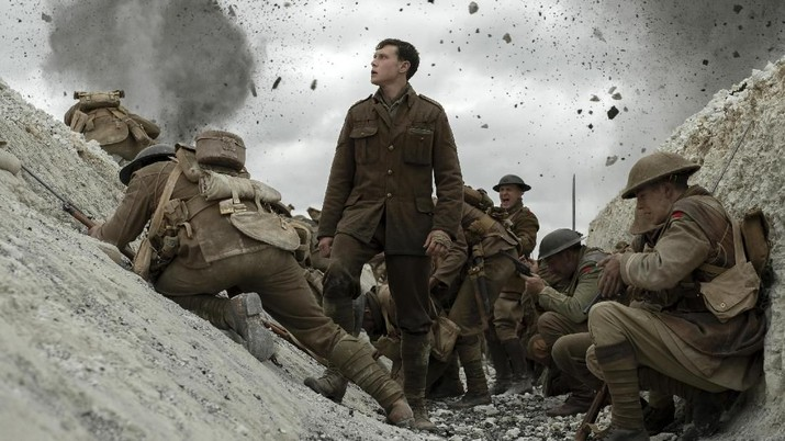 Film 1917 garapan Sam Mendes digadang-gadang sebagai calon kuat pemenang Oscar, ini tiga alasannya