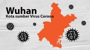 INFOGRAFIS: Melihat Wuhan, Kota Sumber Virus Corona