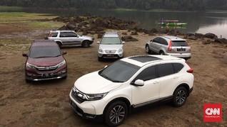 Komunitas Rayakan 20 Tahun Honda CR-V