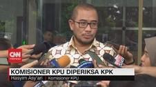 VIDEO: Komisioner KPU Hasyim Asy'ari Diperiksa KPK