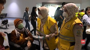 VIDEO: Bandara di Asia Uji Suhu Tubuh Demi Halau Virus Corona