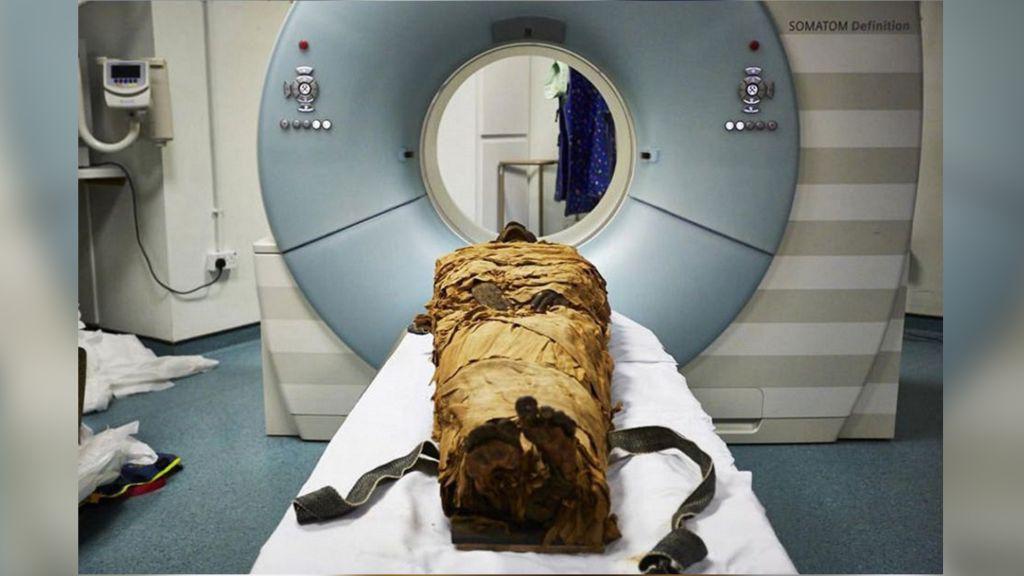 Mumi 3.000 Tahun Mengeluarkan Suara