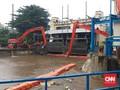 Hujan Jakarta, Ketinggian di Pintu Air Manggarai Siaga 3