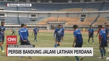 VIDEO: Persib Gelar Latihan Perdana di Stadion GBLA
