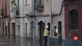 VIDEO: Banjir Spanyol Tewaskan 10 Orang