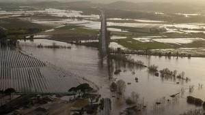 FOTO: Badai Gloria Terjang Spanyol