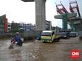 Banjir Jakarta 54 Titik, Air di Underpass Gandhi 2,5 Meter