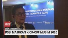 VIDEO: PSSI Majukan Jadwal Kick Off Liga 1 2020