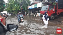 Daftar Lokasi Titik Banjir Jakarta Usai Diguyur Hujan