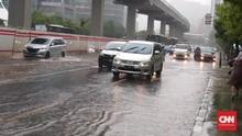 Titik-titik Banjir di Jakarta Akibat Hujan Deras Jumat