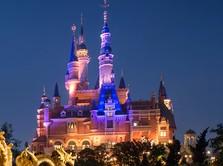 Corona Mereda di China, Disneyland Shanghai Buka Kembali