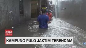 VIDEO: Hujan Sejak Pagi, Sejumlah Wilayah Jakarta Tergenang