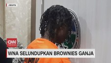 VIDEO: WNA Selundupkan Brownies Ganja