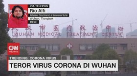 VIDEO: Teror Virus Corona di Wuhan