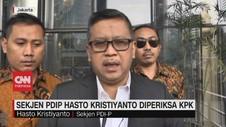 VIDEO: Sekjen PDIP Hasto Kristiyanto Diperiksa KPK