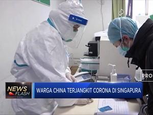 WADUH! Kasus Corona Sudah Terlihat di Singapura