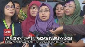 VIDEO: Pasien Dicurigai Terjangkit Virus Corona