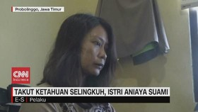 VIDEO: Takut Ketahuan Selingkuh, Istri Aniaya Suami