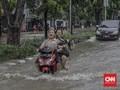 FOTO: Banjir Jakarta Usai Diguyur Hujan Deras