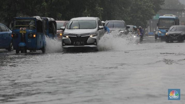 DKI Siaga Banjir, Ini Penampakan Pasar Baru dan Sekitarnya