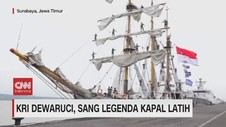 VIDEO: KRI Dewaruci, Sang Legenda Kapal Latih