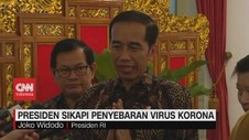 VIDEO: Presiden Sikapi Penyebaran Virus Corona