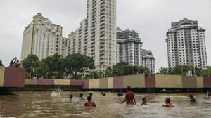 Istana: Pemprov DKI Jangan Berpolemik soal Banjir Kemayoran