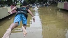 DKI Sebut Banjir 3 Meter di Underpass Kemayoran Urusan Pusat