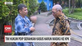 VIDEO: Tim Hukum PDIP Serahkan Kasus Harun Masiku ke KPK