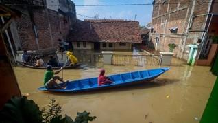 Banjir Terjang 2 Kecamatan di Bandung, 4.862 Rumah Terdampak