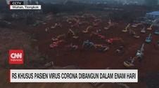 VIDEO: RS Khusus Pasien Virus Corona Dibangun Dalam 6 Hari
