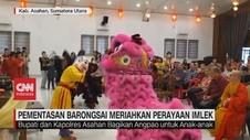 VIDEO: Pementasan Barongsai Meriahkan Perayaan Imlek