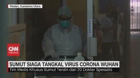 VIDEO: Sumut Siaga Tangkal Virus Corona Wuhan