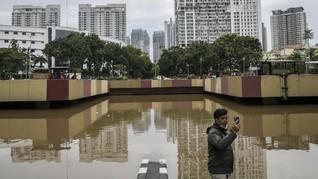 Underpass Gandhi Kemayoran Masih Terendam Banjir 3 Meter