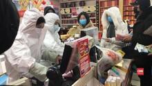VIDEO: Virus Corona Menyebar, Warga Wuhan Serbu Apotek
