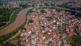 Banjir di Kabupaten Bandung Tewaskan Satu Warga