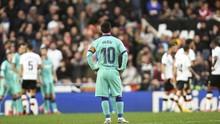 FOTO: Messi Tak Berkutik, Barcelona Keok