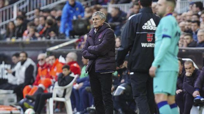 Barcelona Kalah, Setien Masih Unggul Atas Guardiola