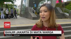 VIDEO: Banjir Jakarta di Mata Warga