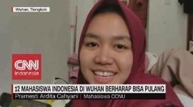 VIDEO: 12 Mahasiswa Indonesia di Wuhan Berharap Bisa Pulang
